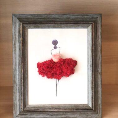 tablou balerina