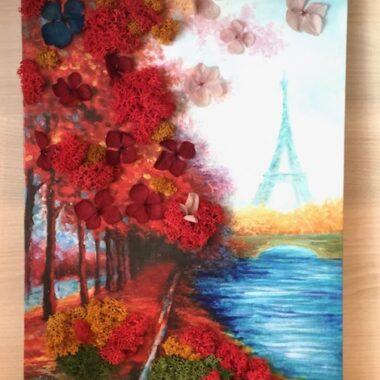 tablou 'La Paris'