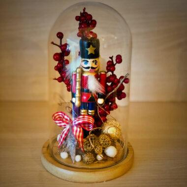 Aranjamente de Craciun - Soldatelul de plumb | Kalia Flowers - Atelier floral Pitesti