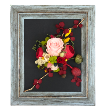 tablou flori stabilizate(1) -kalia flowers