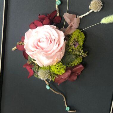 tablou trandafir criogenat roz(1)-kalia flowers