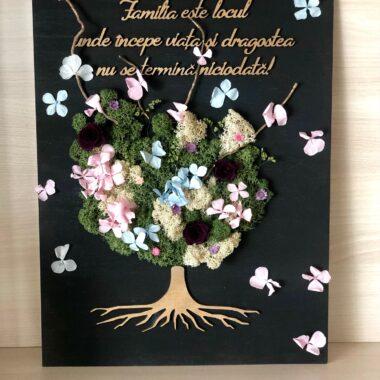 tablou copacul vietii cu licheni kalia flowers 1