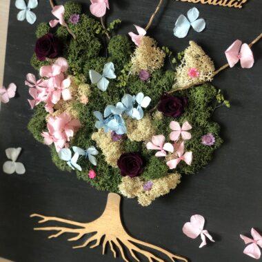 tablou copacul vietii cu licheni kalia flowers 2